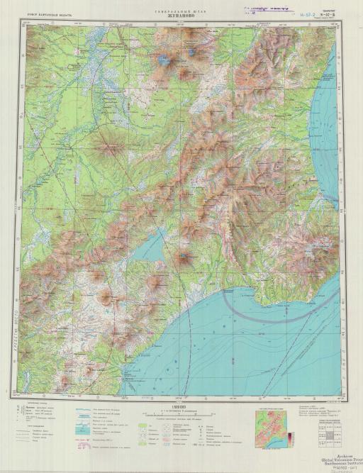 Map of Zhupanovo (in Russian)
