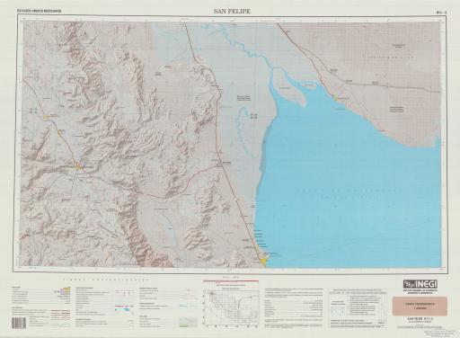 Map of San Felipe