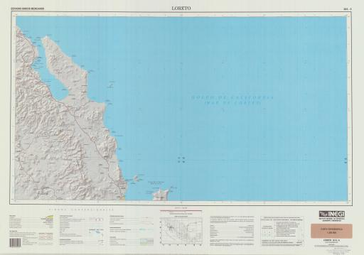 Map of Loreto