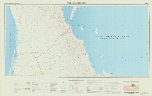 Map of Villa Constitucion