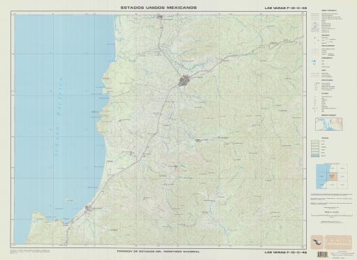 Map of Las Varas