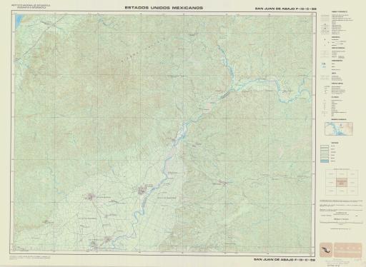 Map of San Juan de Abajo