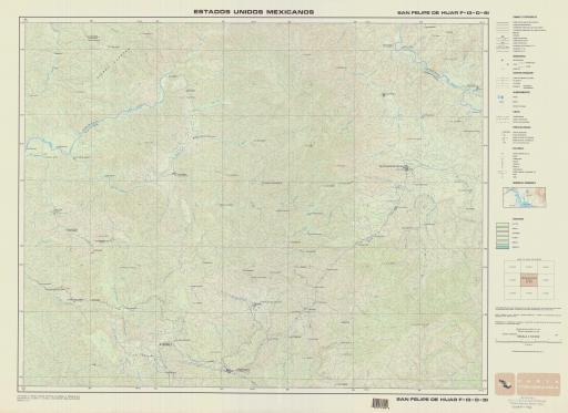 Map of San Felipe de Hijar