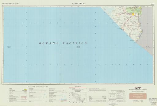 Map of Tapachula