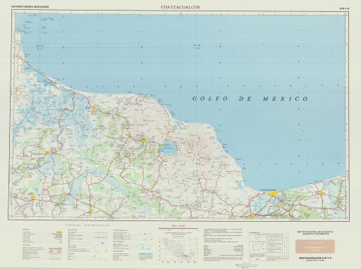 Map of Coatzacoalcos