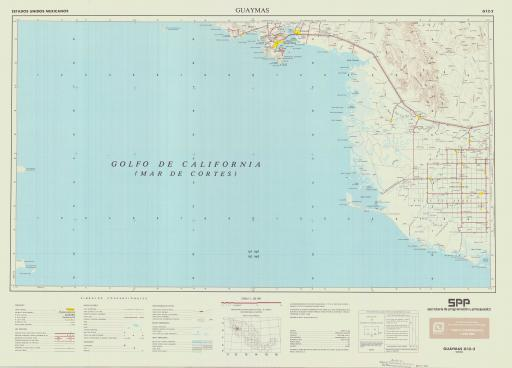 Map of Guaymas