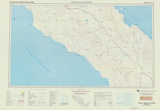 Map of Punta San Antonio