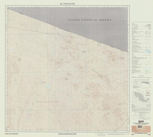 Map of El Papalote
