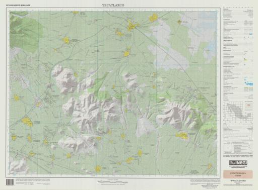 Map of Tepatlaxco