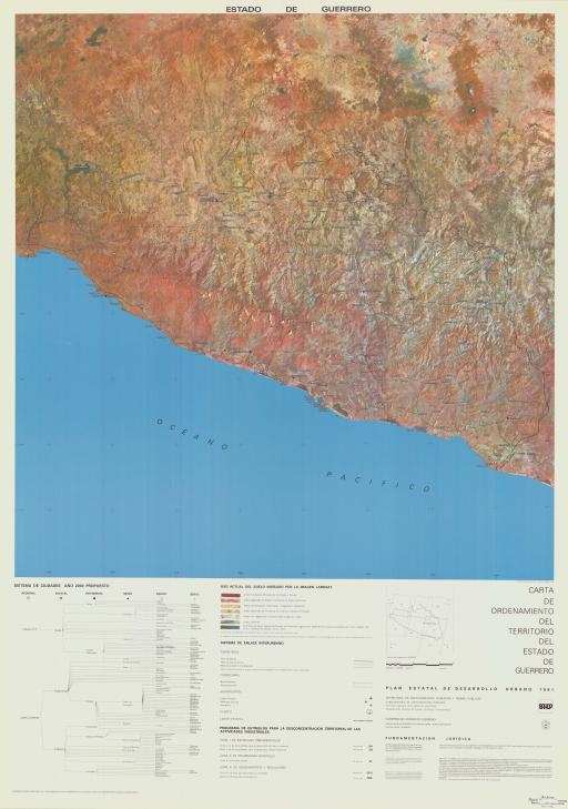 Map of Estado de Guerrero
