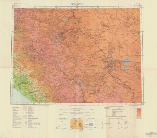 Map of Culiacan