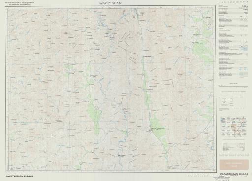Map of Papatzingan