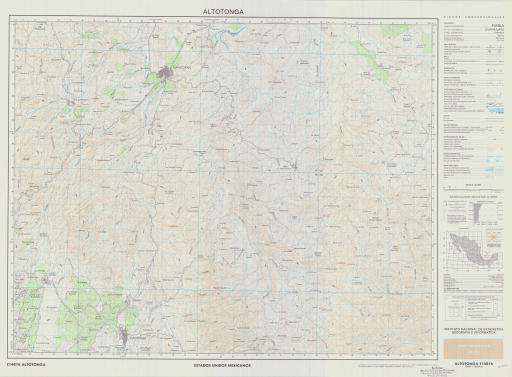 Map of Altotonga