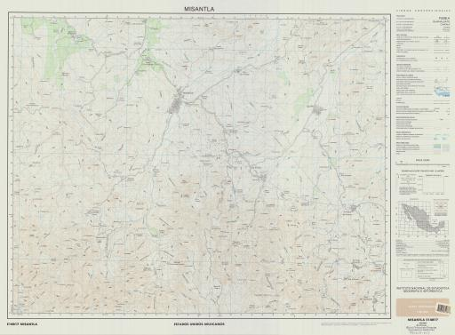 Map of Misantla