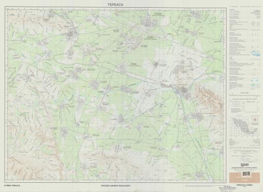 Map of Tepeaca