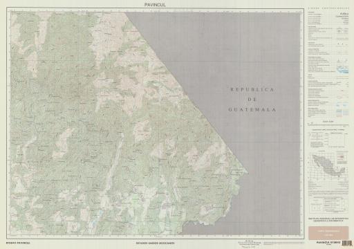 Map of Pavincul