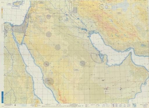 Map of Persian Gulf