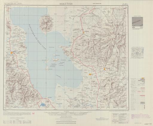 Map of Reza'iyeh