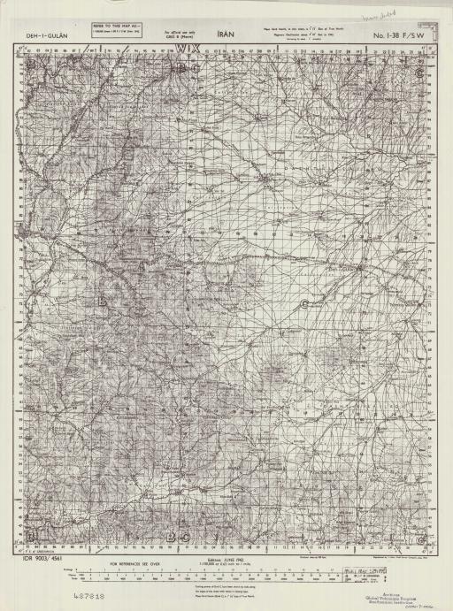 Map of Deh-I-Gulan