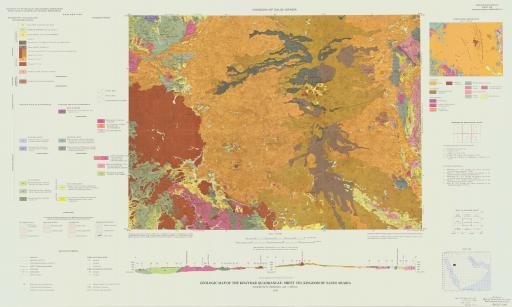 Map of Geologic Map of the Khaybar Quad, Sheet 25D, Saudi Arabia