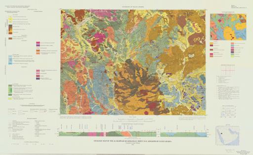 Map of Geologic Map of the Al Medinah Quad, Sheet 24D, Saudi Arabia