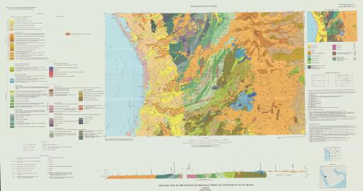 Map of Geologic Map of the Rabigh Quad, Sheet 22D, Saudi Arabia