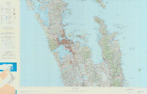 Map of Terrainmap Auckland