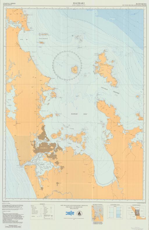 Map of Hauraki