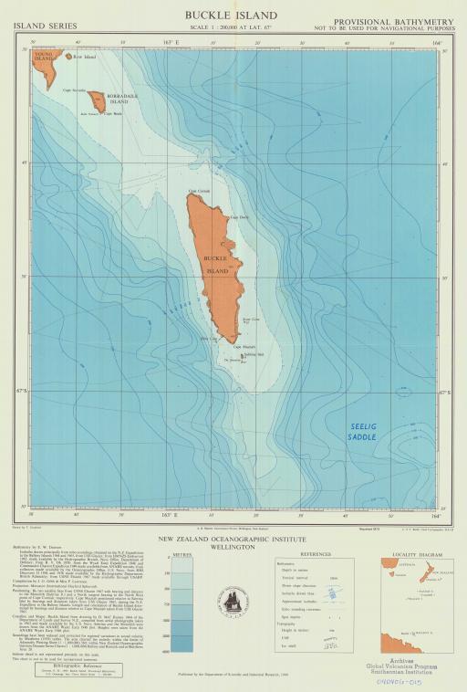 Map of Buckle Island