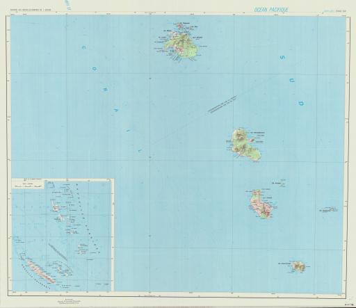 Map of (S) Nouvelles-Hebrides, Archipel des,