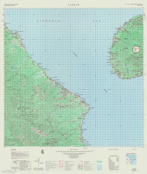 Map of Karkar