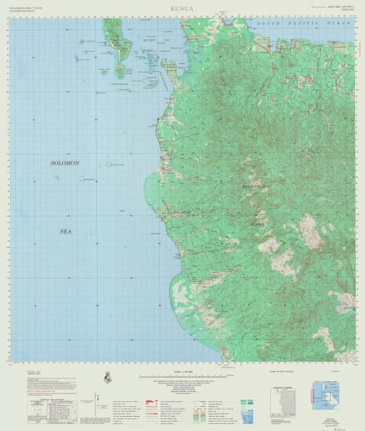 Map of Kunua