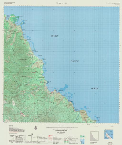 Map of Wakunai