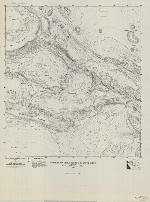 Map of Sol-I Region, Topo of the