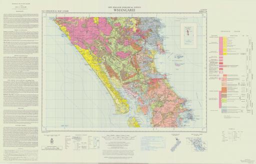 Map of Whangarei