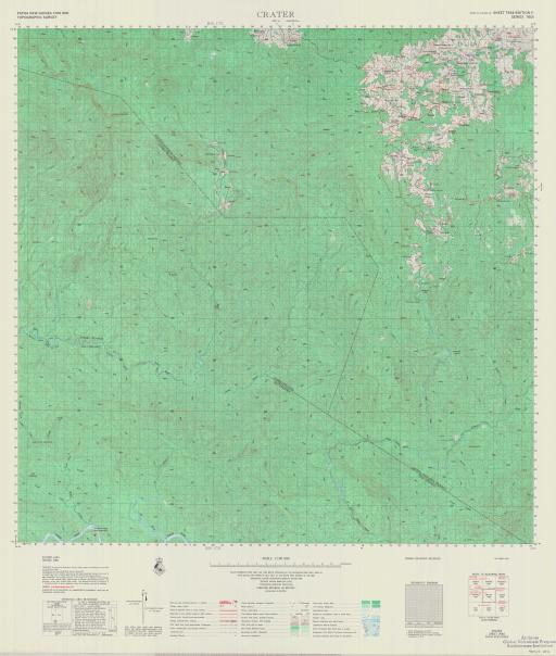 Map of Crater