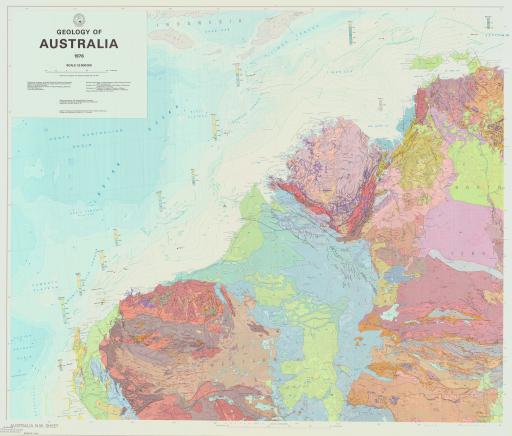 Map of Geology of Australia