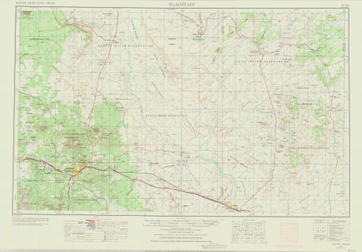 Map of Flagstaff
