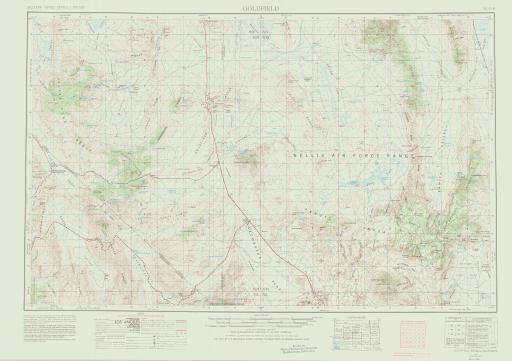 Map of Goldfield