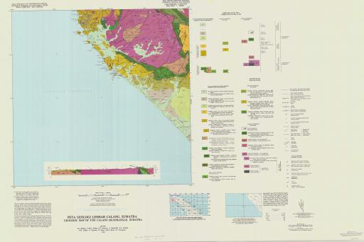 Map of Geologic Map of the Calang Quadrangle, Sumatra