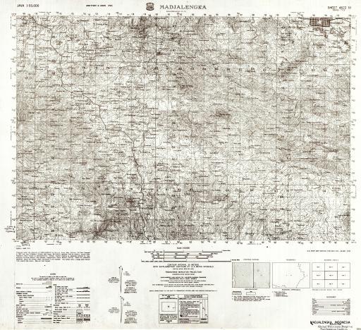 Map of Madjalengka