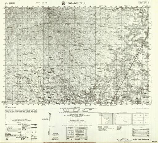 Map of Ngadiluwih