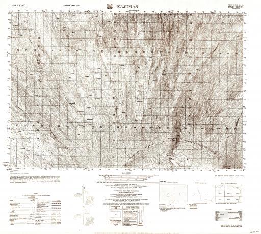 Map of Kajumas