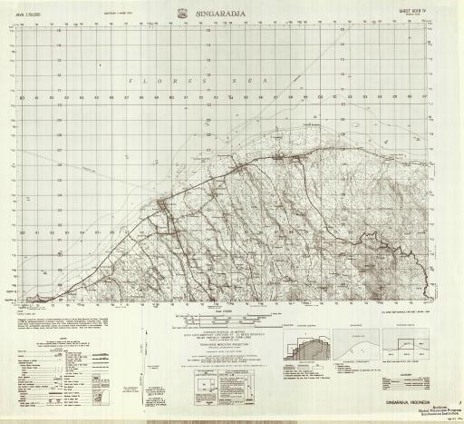 Map of Singaradja