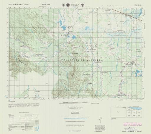 Map of Upala