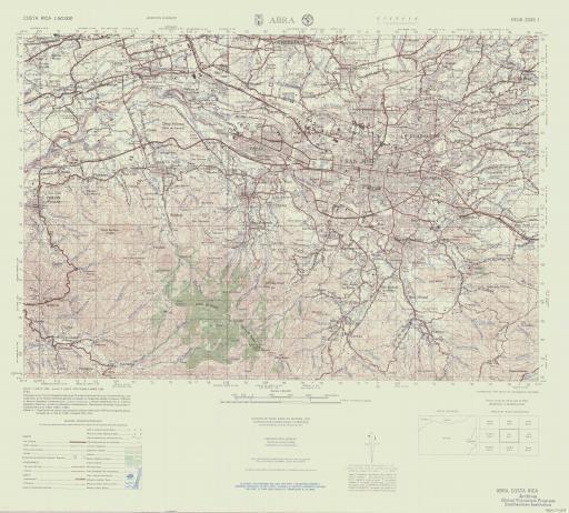 Map of Abra