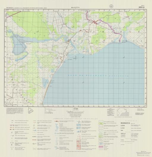 Map of Malacatoya