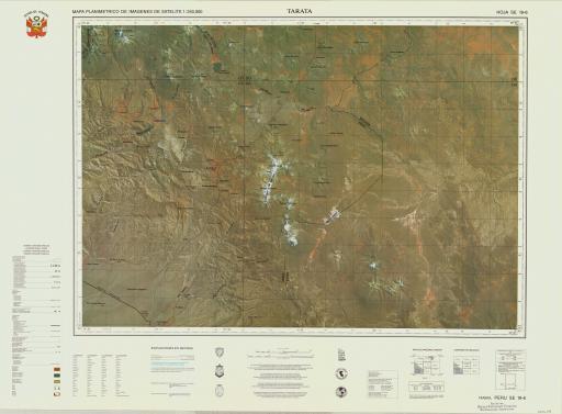 Map of Tarata