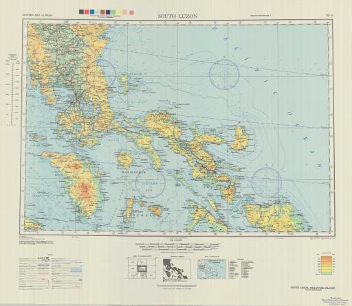 Map of South Luzon