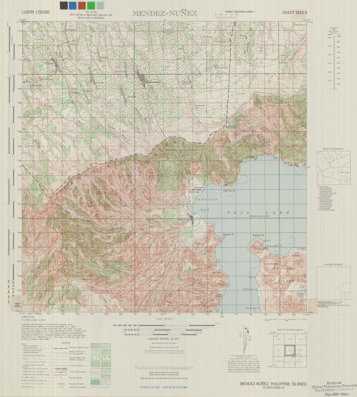 Map of Mendez-Nunez